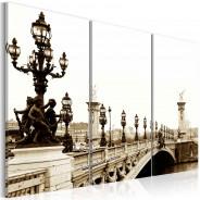 Obraz - Romantyczny spacer po Paryżu