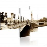 Obraz - Most Aleksandra III w Paryżu