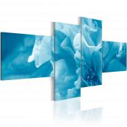 Obraz - Błękitny kwiat azalii