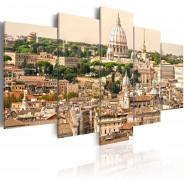 Obraz - Dachy Wiecznego Miasta