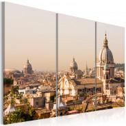 Obraz - Ponad dachami Wiecznego Miasta