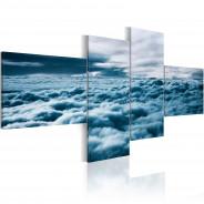 Obraz - Z głową w chmurach