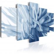 Obraz - Niebieski kwiat dalii