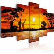 Obraz - Gorące Safari