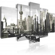 Obraz - Szanghaj - największe miasto Chin