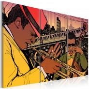 Obraz - Stolica jazzu - Nowy Jork