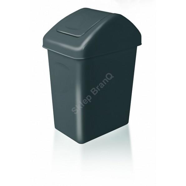 Kosz na śmieci z uchylną pokrywą 25 L