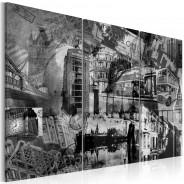 Obraz - Esencja Londynu - tryptyk