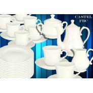 Garnitur do kawy 12/39 Castel-FBC niedekorowany
