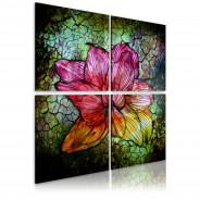 Obraz - Szklany kwiat