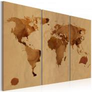 Obraz - Świat kawą malowany - tryptyk