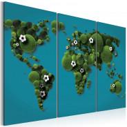 Obraz - Największe boisko świata - tryptyk