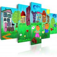 Obraz - Beztroskie dzieciństwo