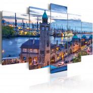 Obraz - Niemcy, Hamburg, port