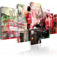 Obraz - Wspomnienia z Londynu - 5 części