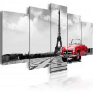 Obraz - Paryski samochód