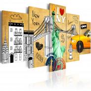Obraz - Z miłości do Nowego Jorku