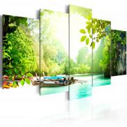 Obraz - Pod osłoną drzew