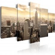 Obraz - Nowy Jork i wschód słońca