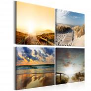 Obraz - Na plaży ze snów