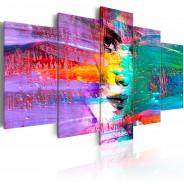 Obraz - Kolorowa zmysłowość