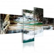 Obraz - Leśne kaskady