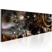 Obraz - Złota galaktyka