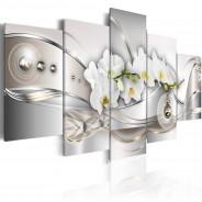 Obraz - Perłowy taniec orchidei