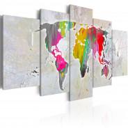 Obraz - Ilustracja świata