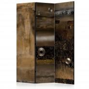 Parawan 3-częściowy - Metalowe przymierze [Room Dividers]