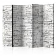 Parawan 5-częściowy - Białe zaklęcie II [Room Dividers]