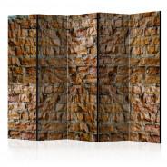 Parawan 5-częściowy - Kamienny urok II [Room Dividers]
