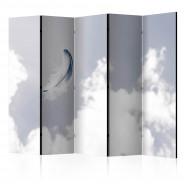 Parawan 5-częściowy - Anielskie piórko II [Room Dividers]
