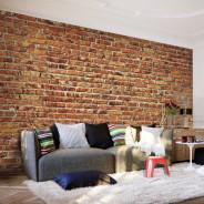 Fototapeta - Ceglany mur