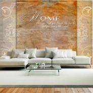 Fototapeta - Home, where you treat your friends like family...