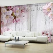Fototapeta - Kwiaty jabłoni