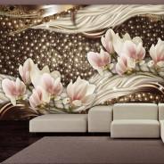 Fototapeta - Perły i magnolie