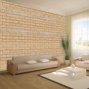 Fototapeta - Mur ze zdobieniami