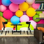 Fototapeta - Kolorowe kulki