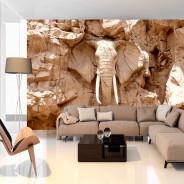 Fototapeta - Kamienny słoń (RPA)