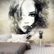 Fototapeta - Zagadkowa dziewczyna