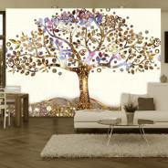 Fototapeta - Złote drzewo