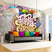 Fototapeta - Funky Graffiti