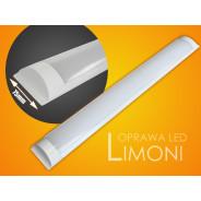 Oprawa led Limoni 120cm 40W 3000K milky