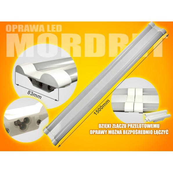 Oprawa led Mordret 120cm 40W 4000K milky