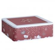 Puszka kuferek Eigenart Zimowe zapasy różowa różne kolory