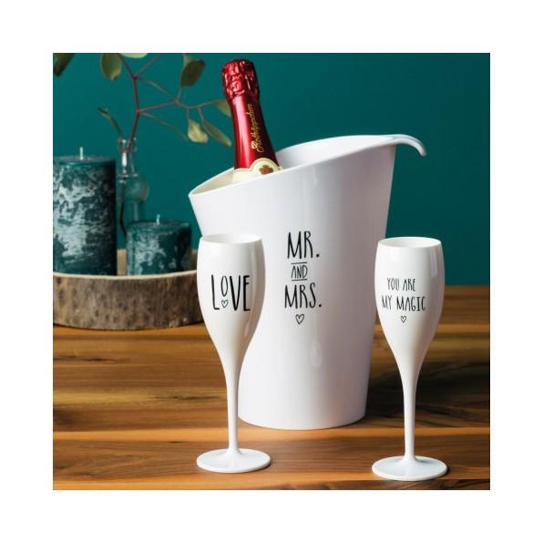 Wiaderko do szampana z uchwytami UNIE