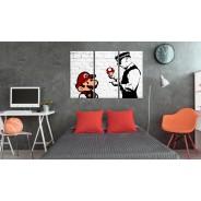 Obraz - Mario Bros (Banksy)