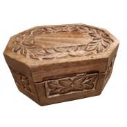 Szkatułka drewniana dekoracyjna