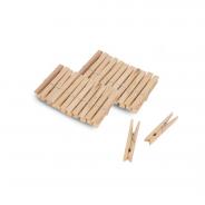 Drewniane klamerki do prania 24 szt